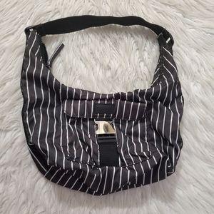 Lauren Ralph Lauren Striped Hobo Bag